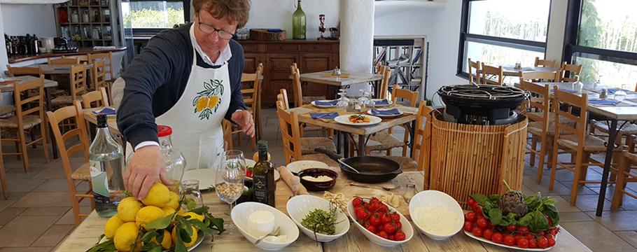 Capri cooking class