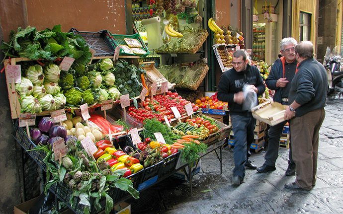 Naples market