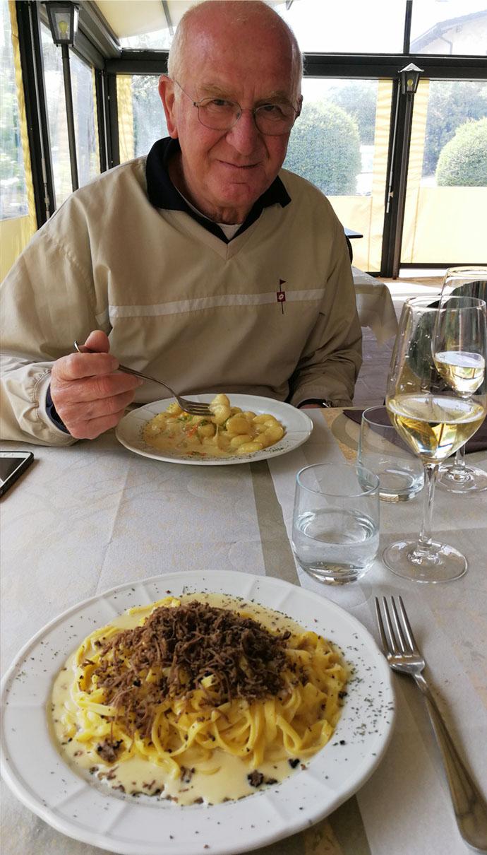 Licio with truffles