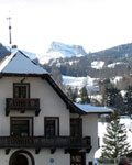 A white Christmas in Cortina d'Ampezzo