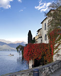 The monastery island of San Giulio on Lake Orta
